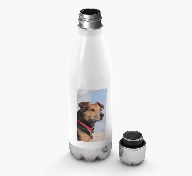 Photo Upload - Personalized King Charles Spaniel Water Bottle