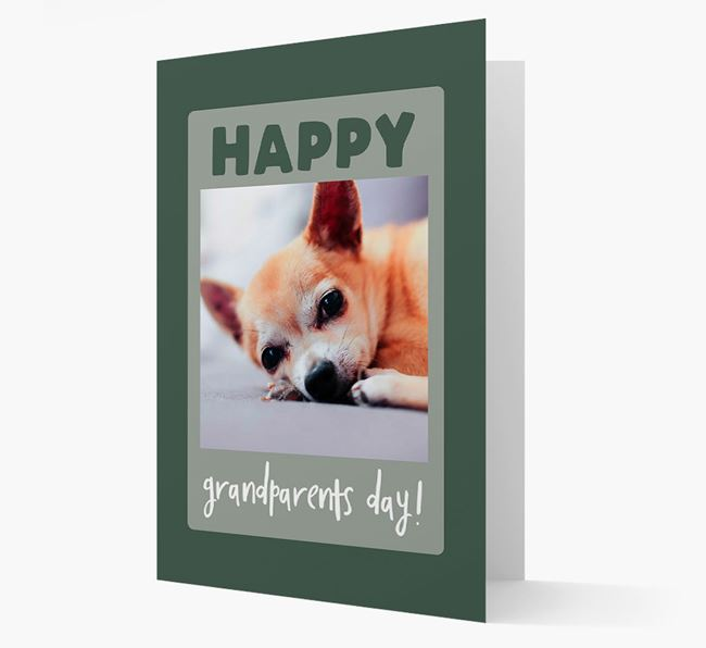 'Happy Grandparent's Day!' - Photo Upload Chihuahua Card