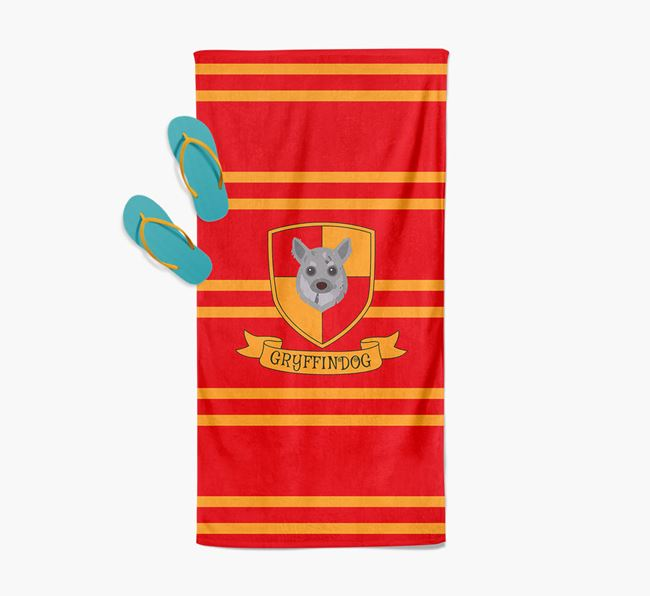 'Harry Pawter' - Personalised Chihuahua Towel