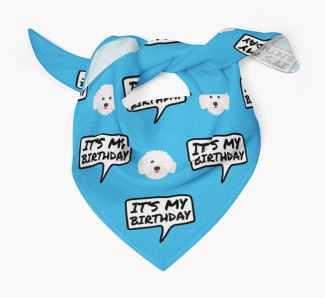 It's My Birthday Bolognese Bandana