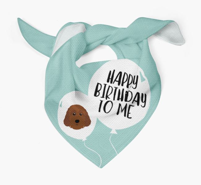 Happy Birthday to {dogsName} Bandana