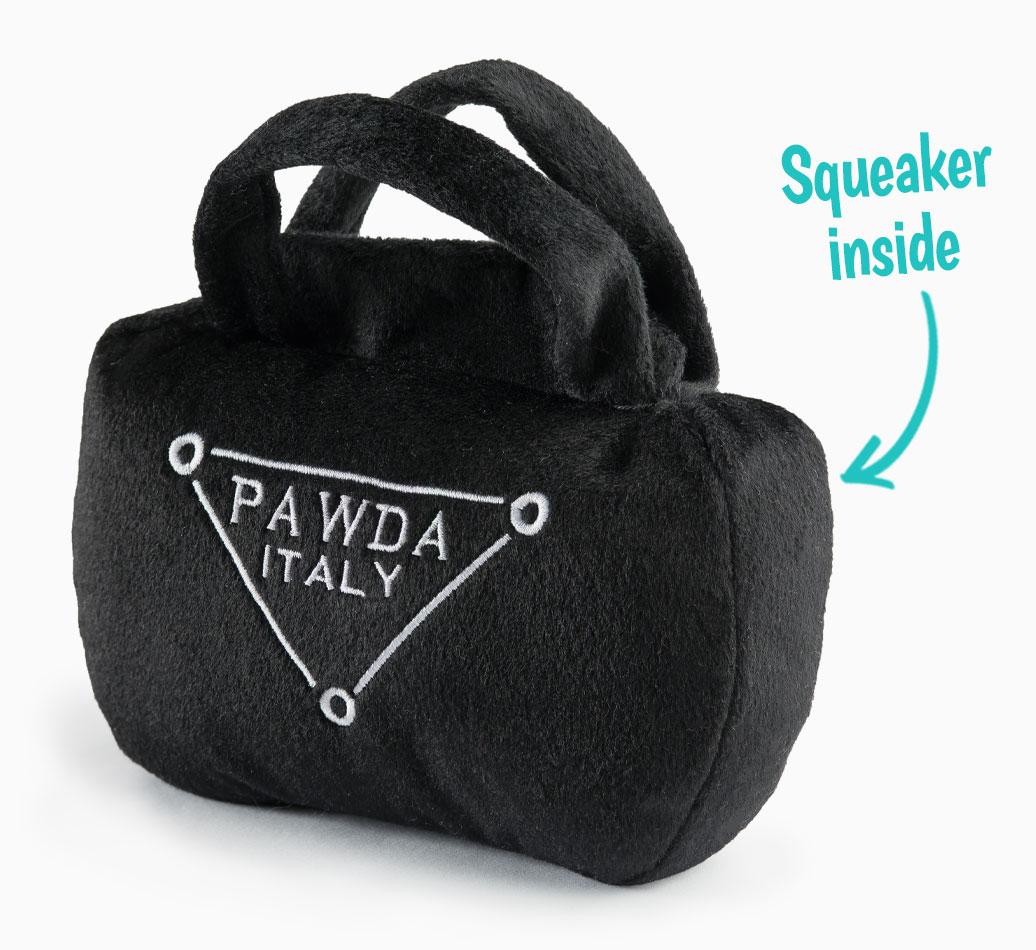 Pawda Bag Toy for your Bedlington Terrier 'Squeaker Inside'