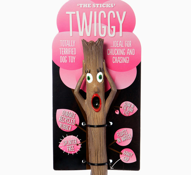 'The Sticks Twiggy' toy for your Bedlington Terrier
