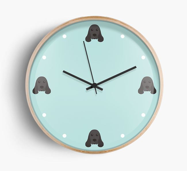 Dog Icon Wall Clock