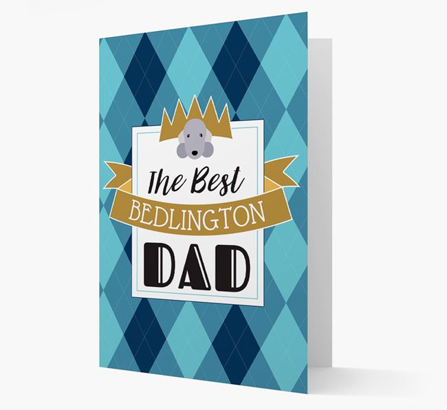 'Best {breedCommontName} Dad' Card