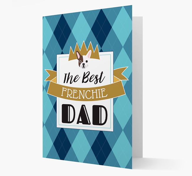 'Best Frenchie Dad' Card