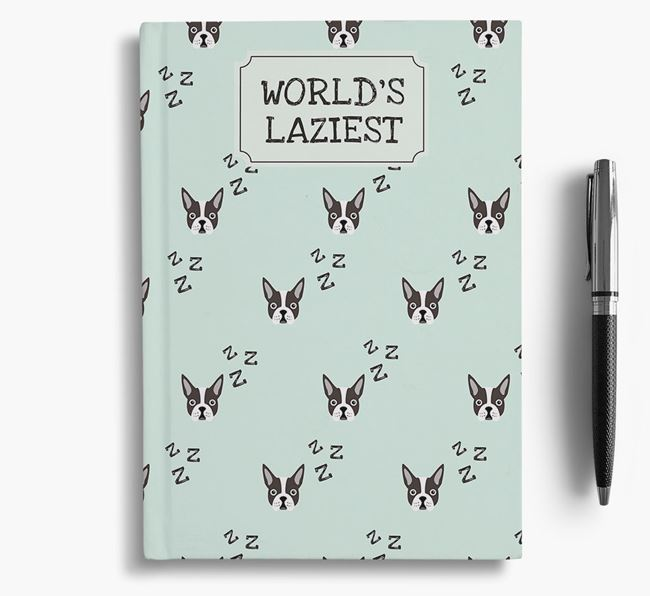 'Worlds Laziest' Dog Notebook