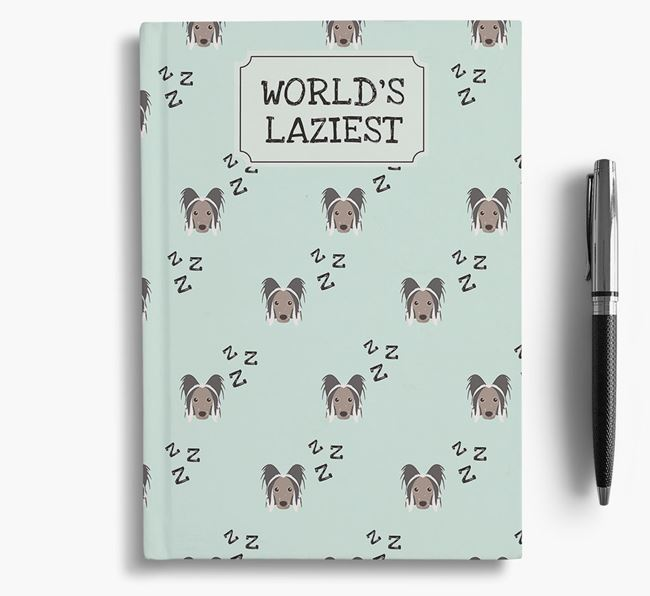 'Worlds Laziest' Hairless Chinese Crested Notebook