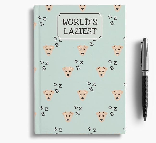 'Worlds Laziest' Jack-A-Poo Notebook