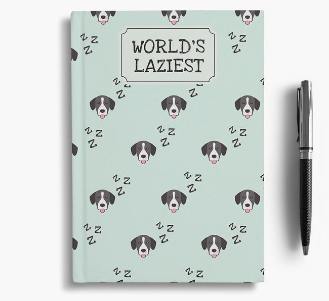 'Worlds Laziest' Springador Notebook