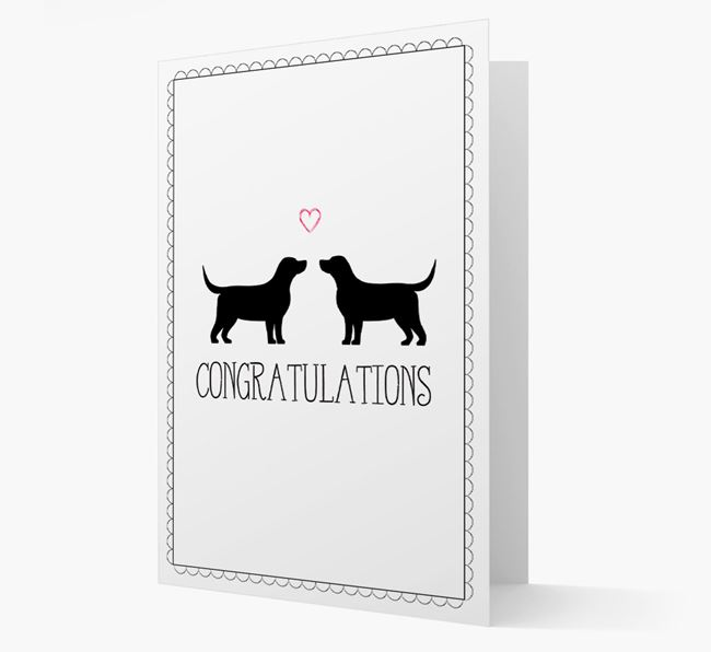 Congratulations 'Love' Bassador Card