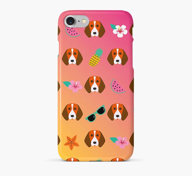 Tropical Beagle Phone Case