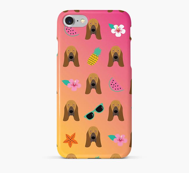 Tropical Bloodhound Phone Case