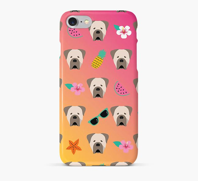 Tropical Cane Corso Italiano Phone Case