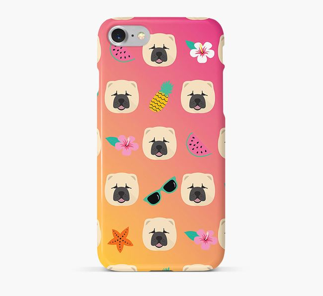 Tropical Chow Chow Phone Case