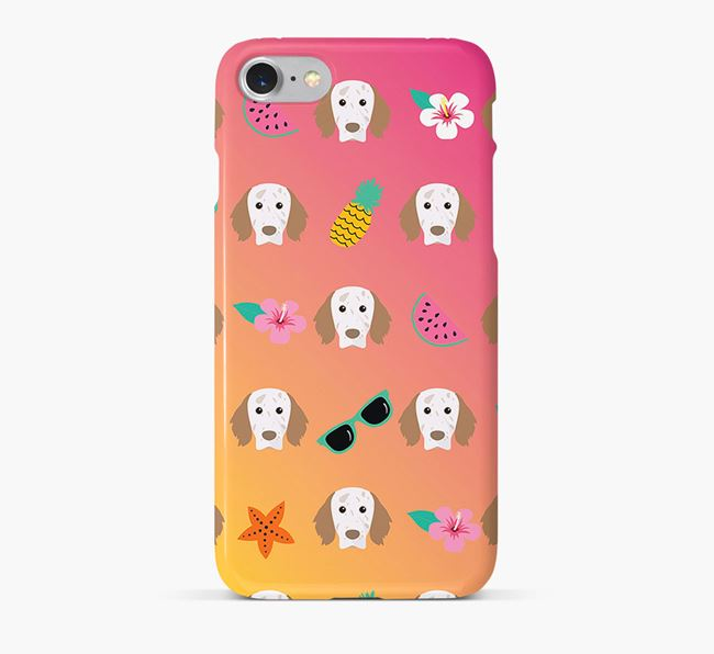 Tropical English Setter Phone Case
