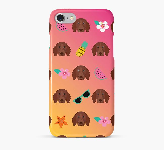 Tropical German Longhaired Pointer Phone Case