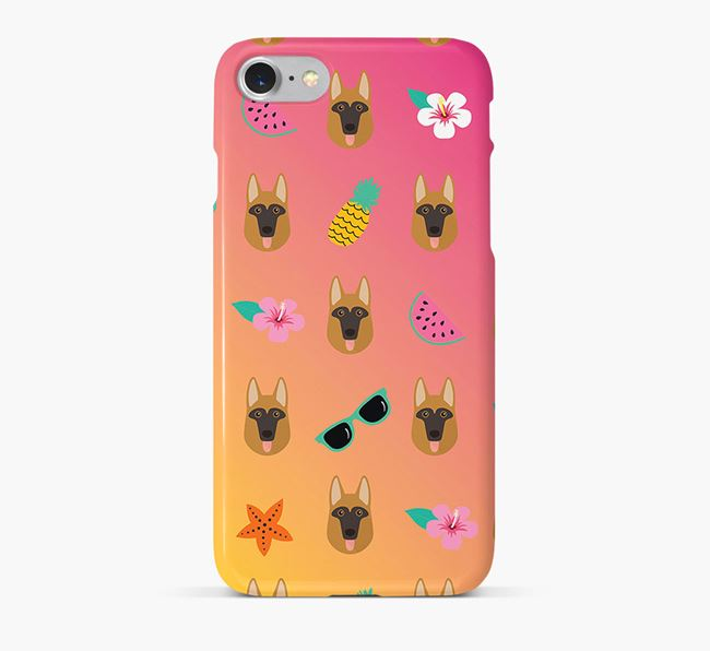 Tropical Dog Phone Case