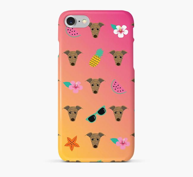 Tropical Greyhound Phone Case