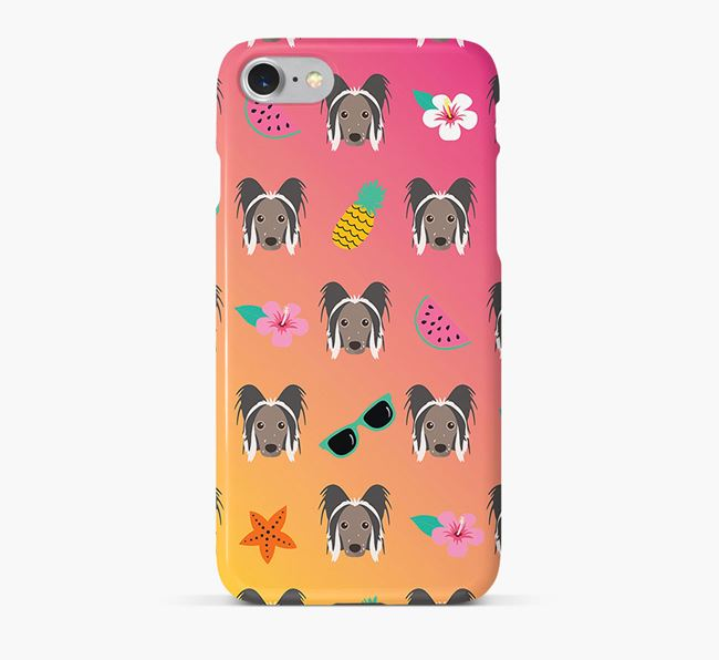 Tropical Hairless Chinese Crested Phone Case