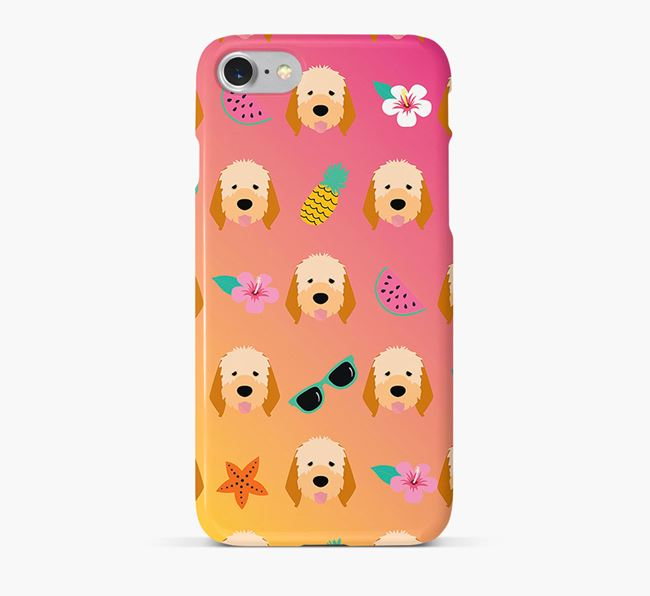 Tropical Italian Spinone Phone Case