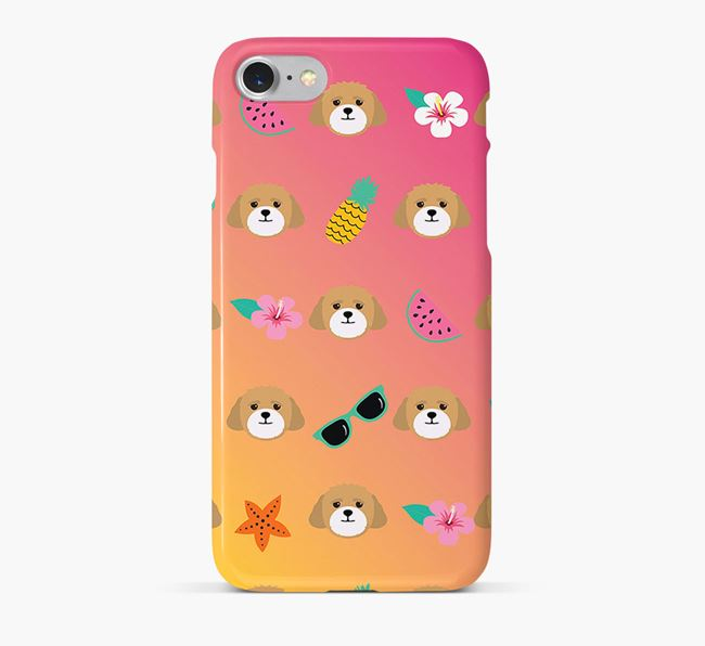 Tropical Lhasapoo Phone Case