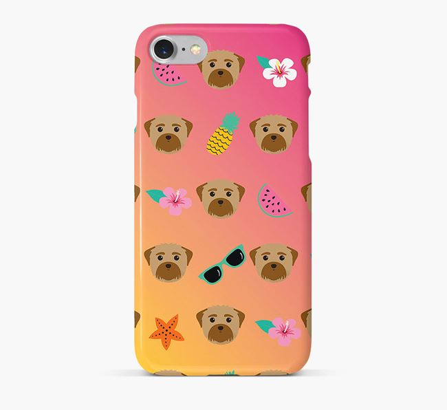 Tropical Maltese Phone Case