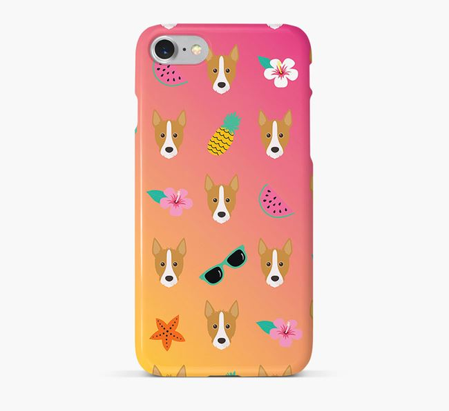 Tropical Mixed Breed Phone Case