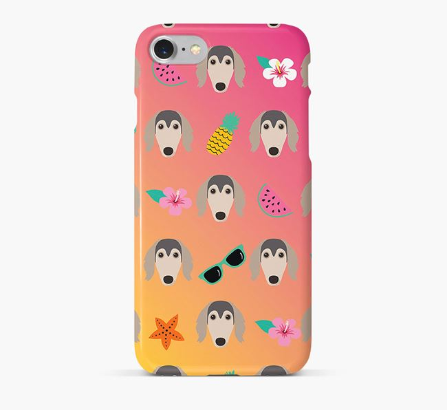 Tropical Saluki Phone Case