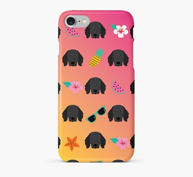 Tropical Small Munsterlander Phone Case