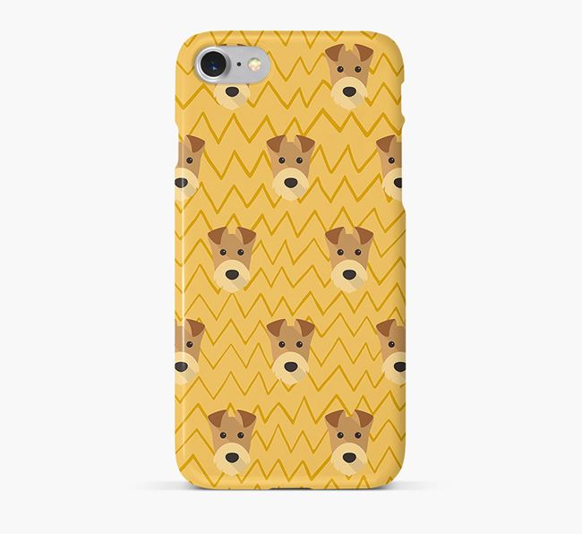 Icon & Sketch Airedale Terrier Phone Case
