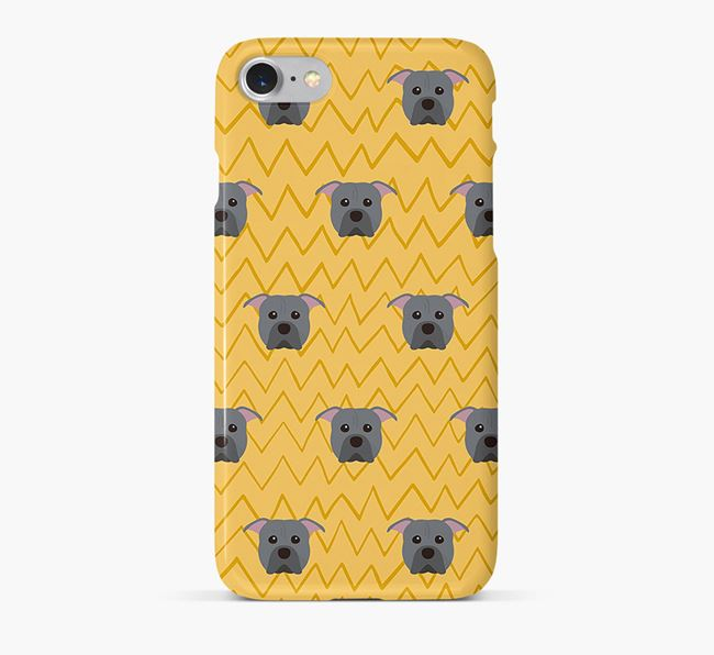 Icon & Sketch American Pit Bull Terrier Phone Case