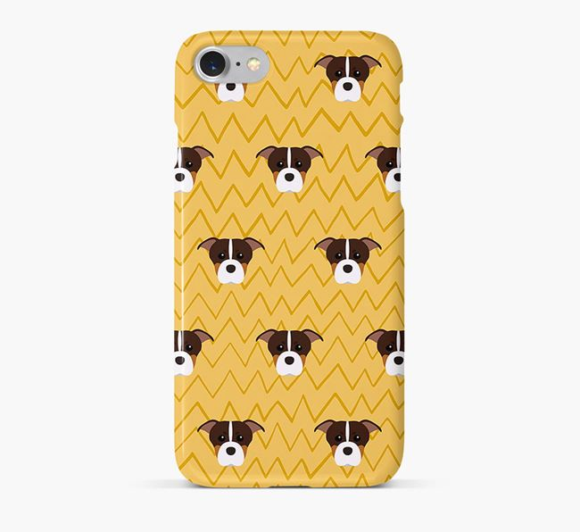 Icon & Sketch American Staffordshire Terrier Phone Case