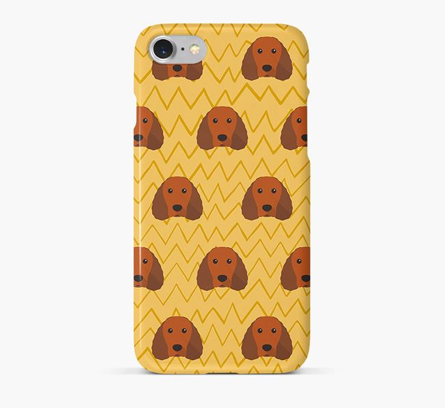 Icon & Sketch American Water Spaniel Phone Case