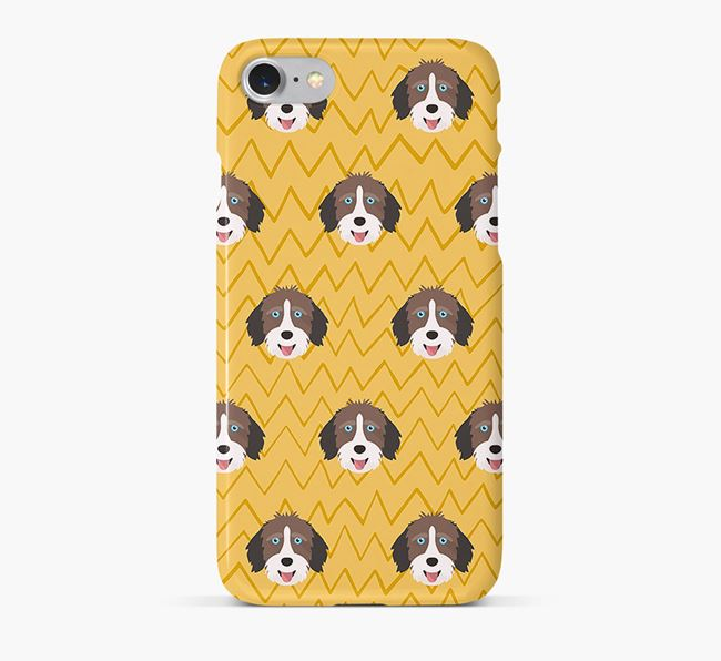 Icon & Sketch Aussiedoodle Phone Case
