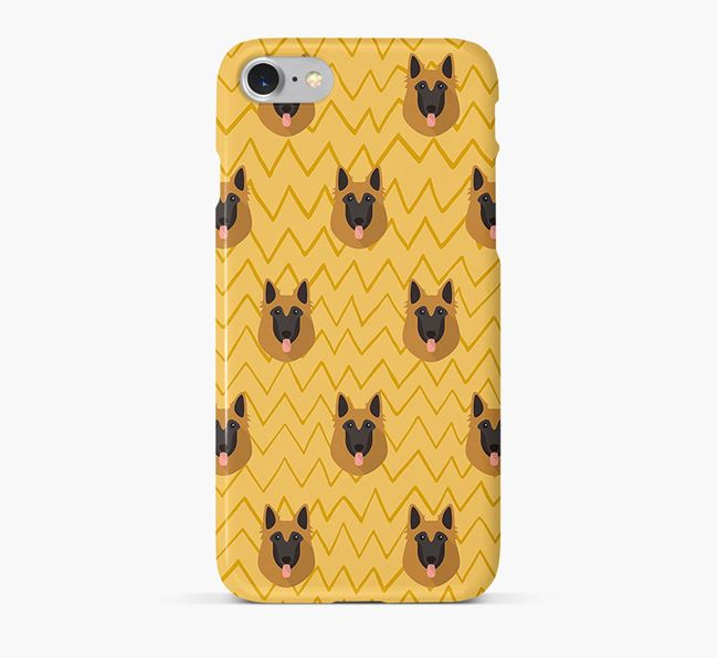 Icon & Sketch Belgian Tervuren Phone Case