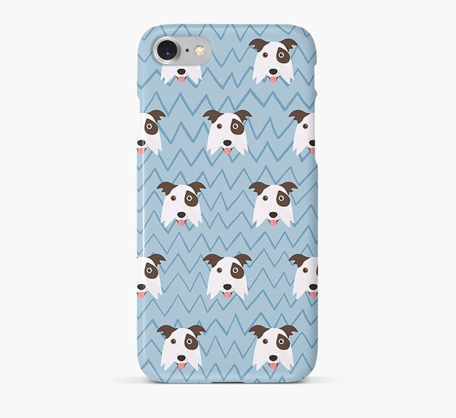 Icon & Sketch Border Collie Phone Case
