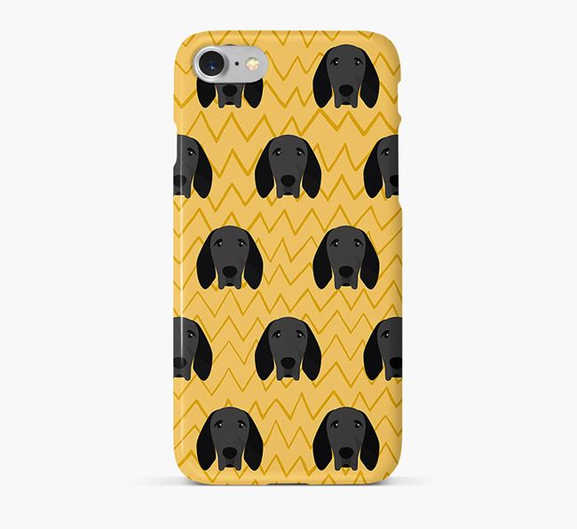 Icon & Sketch Braque D'Auvergne Phone Case