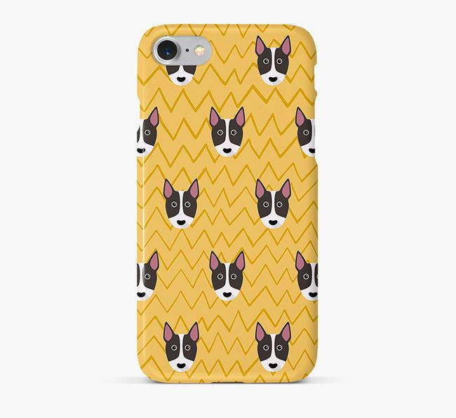 Icon & Sketch Bull Terrier Phone Case