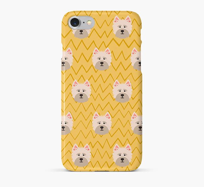 Icon & Sketch Cairn Terrier Phone Case