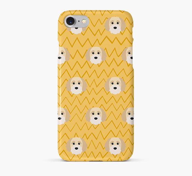Icon & Sketch Cavapoochon Phone Case