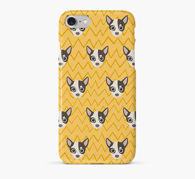 Icon & Sketch Chihuahua Phone Case