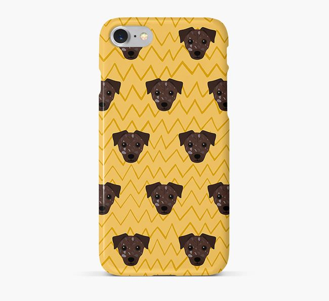 Icon & Sketch Chi Staffy Bull Phone Case