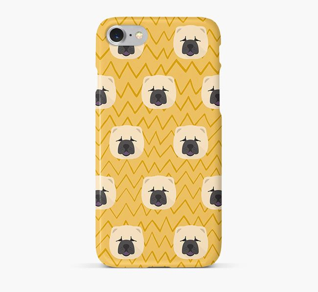 Icon & Sketch Chow Chow Phone Case