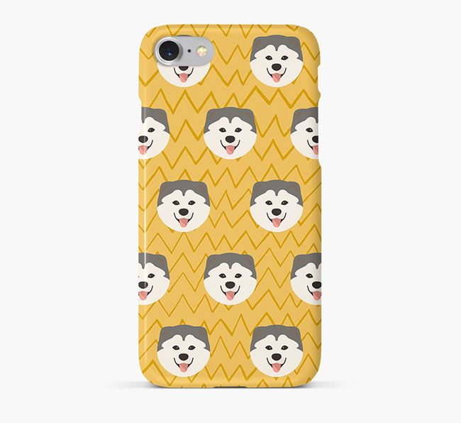 Icon & Sketch Chusky Phone Case