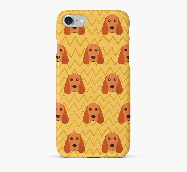 Icon & Sketch Cocker Spaniel Phone Case