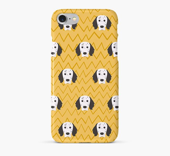 Icon & Sketch English Setter Phone Case