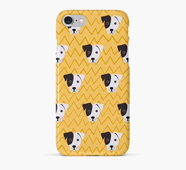 Icon & Sketch French Bull Jack Phone Case