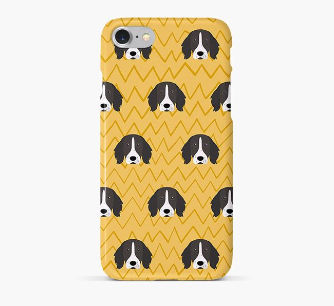 Icon & Sketch German Longhaired Pointer Phone Case
