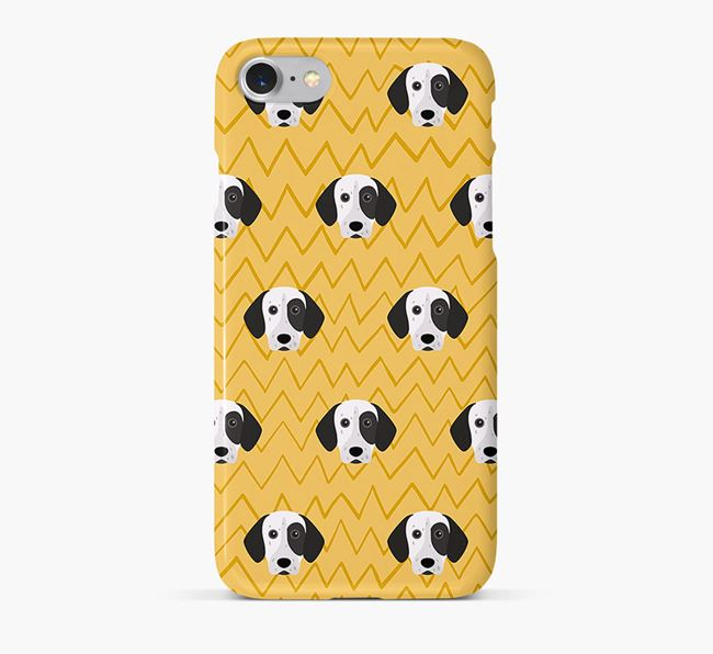 Icon & Sketch German Shorthaired Pointer Phone Case